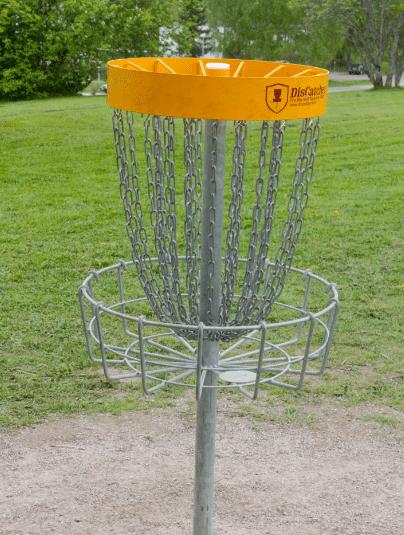 Frisbeegolf -tapahtuma Tahko Old Course -golfkentällä