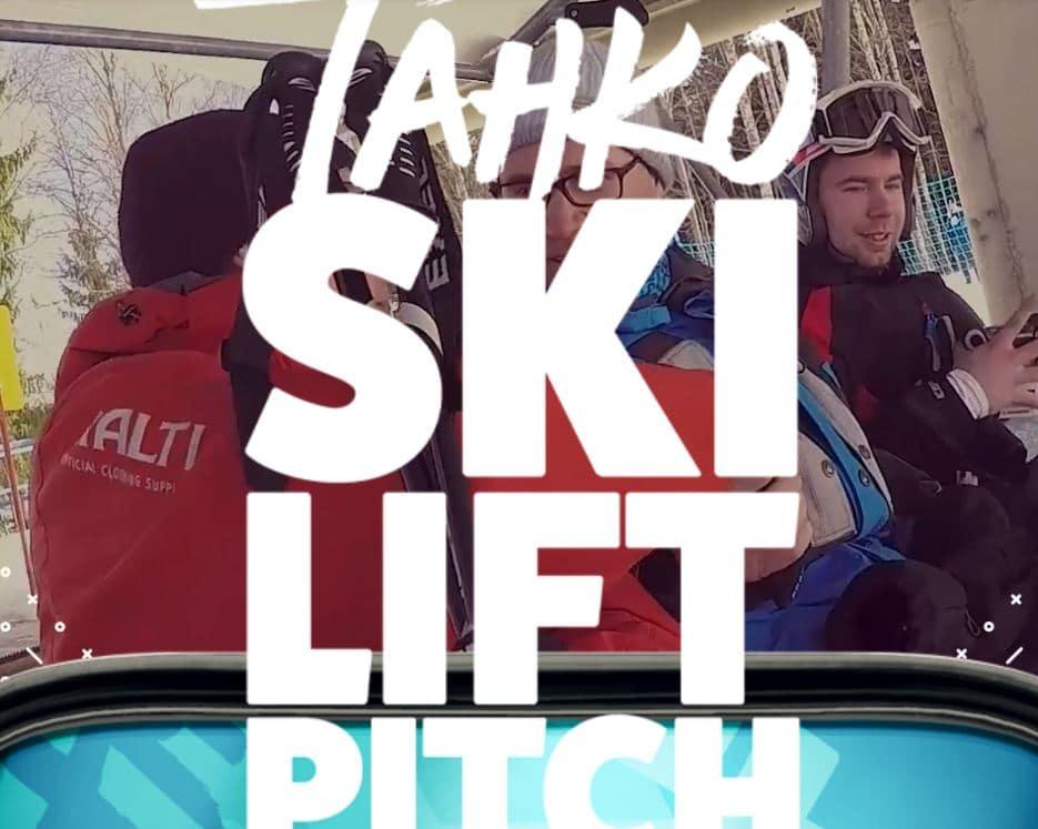 Tahko Ski Lift Pitch