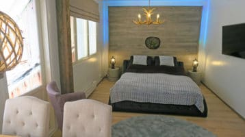 Apartments Huili Tahkon keskustassa vaellusreitit rinteet MTB suoraan ovelta